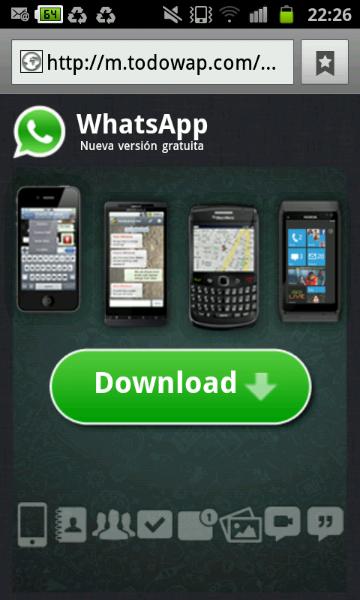 WhatsApp nueva versión gratuita
