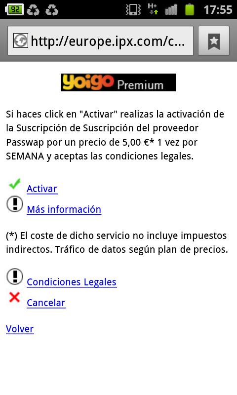 europe.ipx.com - Yoigo Premium - Passwap
