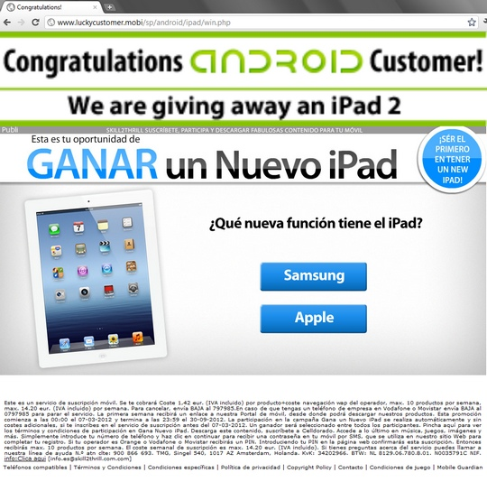 http://www.luckycustomer.mobi/sp/android/ipad/win.php