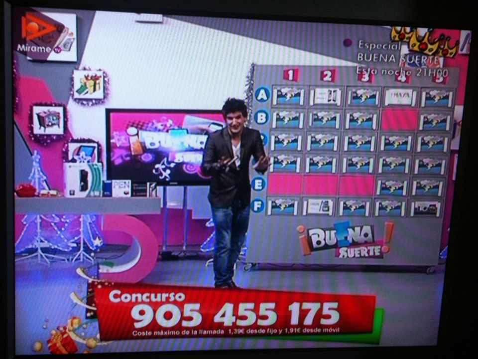 Call TV en Mírame Televisión