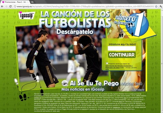 la canción de los futbolistas igossip news http://www.igossip.es/es/splash_v32/html/landing.bsp?clId=110&chId=276&spId=pcelebracion_ig&deId=gcelebracion&ce_cid=000TLB2w8AE91DCGWJ8yjwtbvy000000