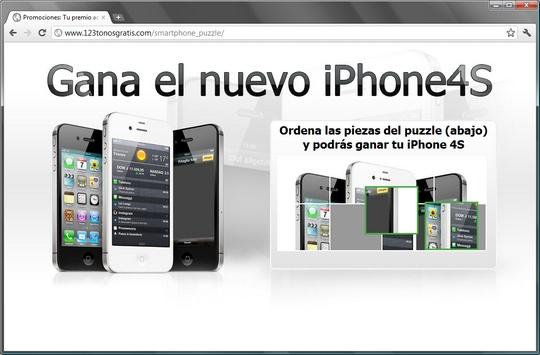 http://www.123tonosgratis.com/smartphone_puzzle/ Promociones: Tu premio aquí