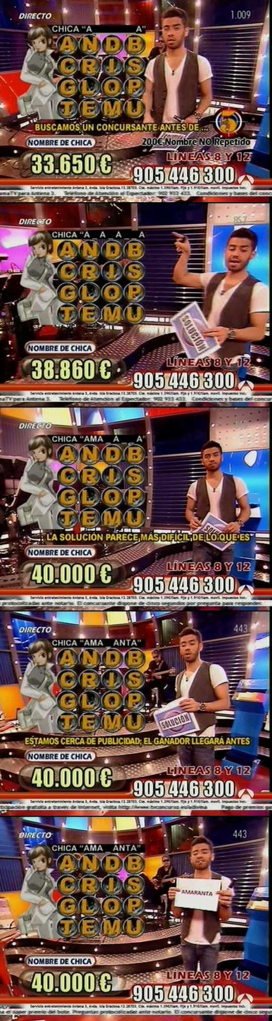 Amaranta - Antena 3