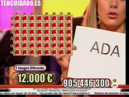 Ada - Adivina quién gana esta noche - Antena 3