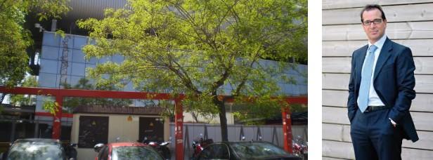 Los estudios de Canal Català y el empresario italiano Nicola Pedrazzoli