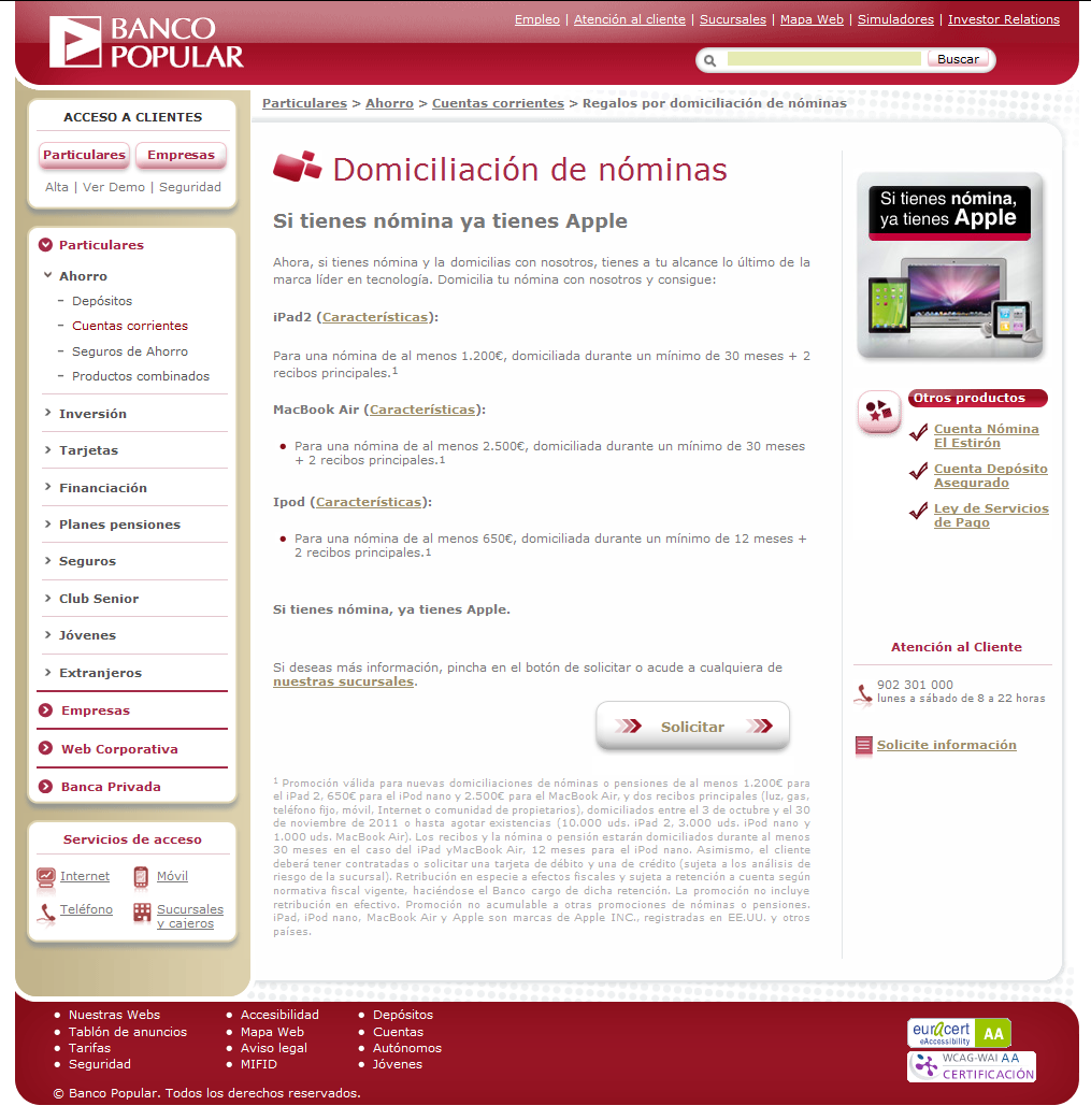 Regalo ipad banco popular once de hoy - guardianrealty.biz