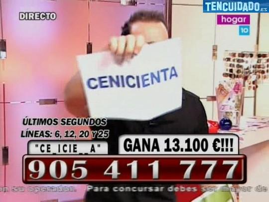 Cenicienta - La Noche Millonaria - Hogar 10