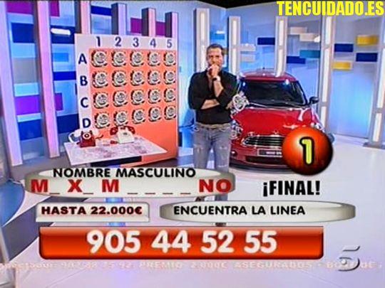 Germán - Lluvia de Euros - Tele5