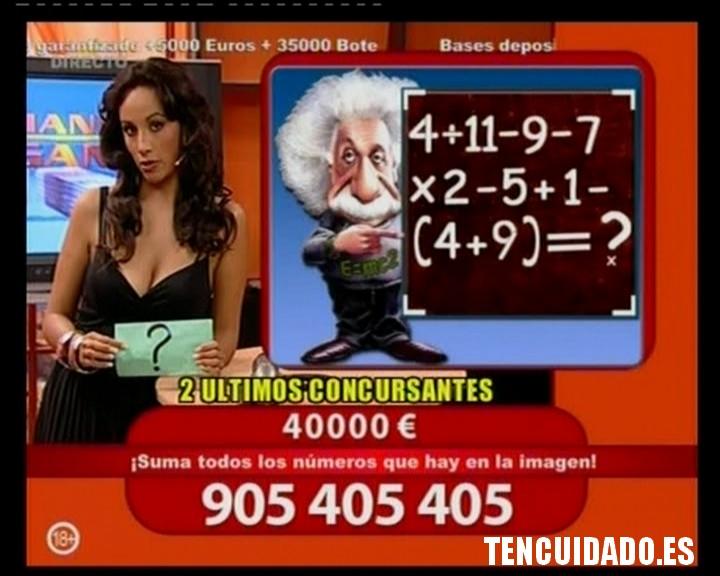 Suma Einstein - Llamando se gana