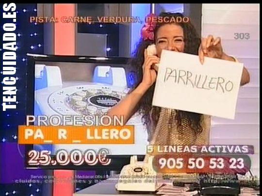 Parrillero en el call-tv de Intereconomía