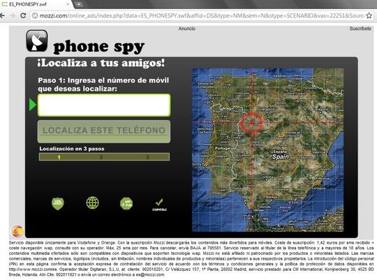 phonespy phone spy - localiza a tus amigos - localiza este teléfono
