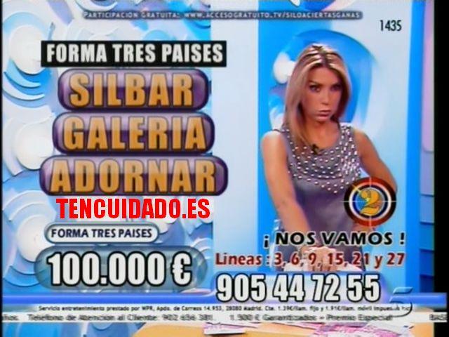 Si lo aciertas ganas - Telecinco