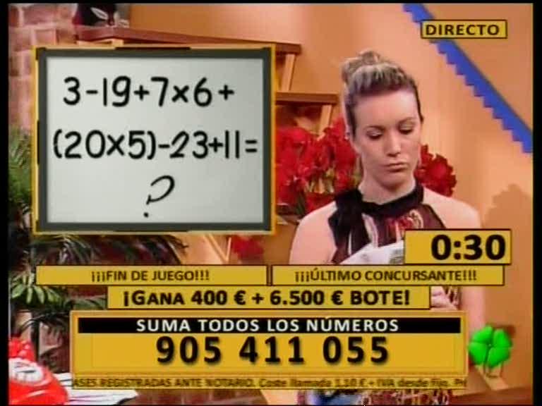 sumanumteletrebol250209 El timo de la suma de los números.