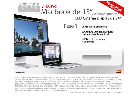 Wixawin- Gana un MacBook de 13 pulgadas